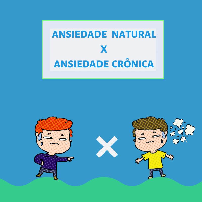ansiedade cronica x ansiedade card zenfy